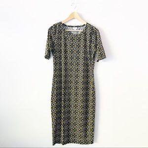 LulaRoe Julia Dress M